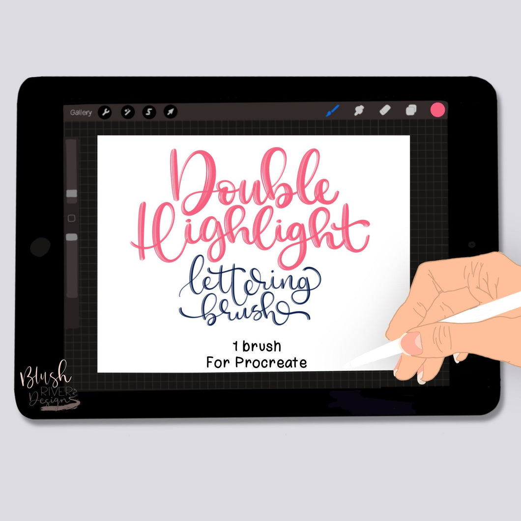 Double Highlight Script Procreate Brush