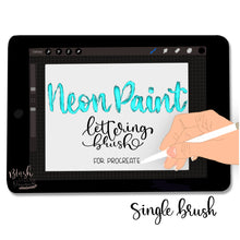 Load image into Gallery viewer, Neon Paint Procreate Brush