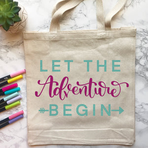 Let The Adventure Begin - Cut Files