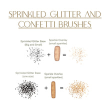 Load image into Gallery viewer, Sprinkled Glitter and Confetti Procreate Brush Set