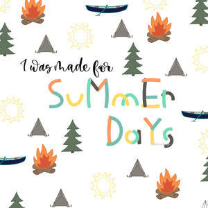 Summer Camp Paint Font - OTF & TTF