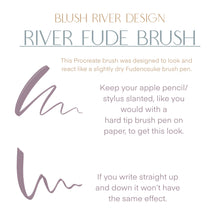 Load image into Gallery viewer, River Fude Procreate Lettering Brush
