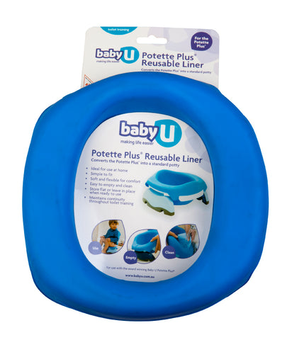 Baby U Potette Plus Reusable Liner 1pk