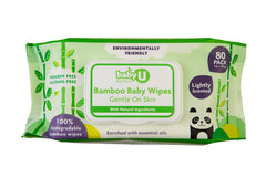 Baby U Bamboo Wipes 80pk