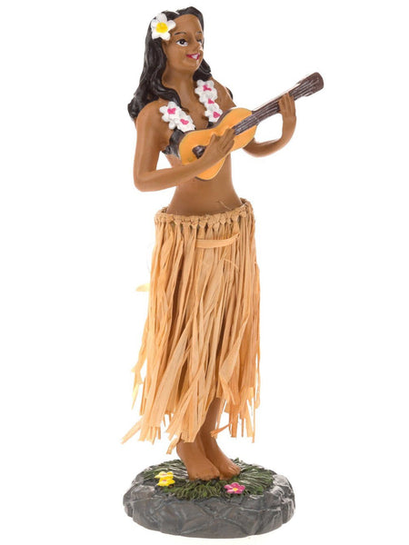 Hawaiian Hula Dashboard Doll