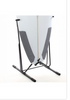 Surfboard Freestanding Rack - Vertical Steel - No Center Fin Needed
