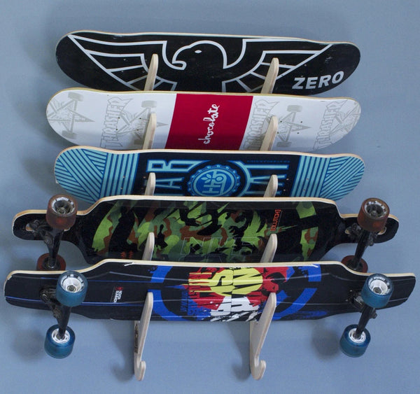 Skateboard Rack - Horizontal x5