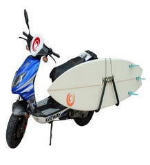 Surfboard Scooter Rack