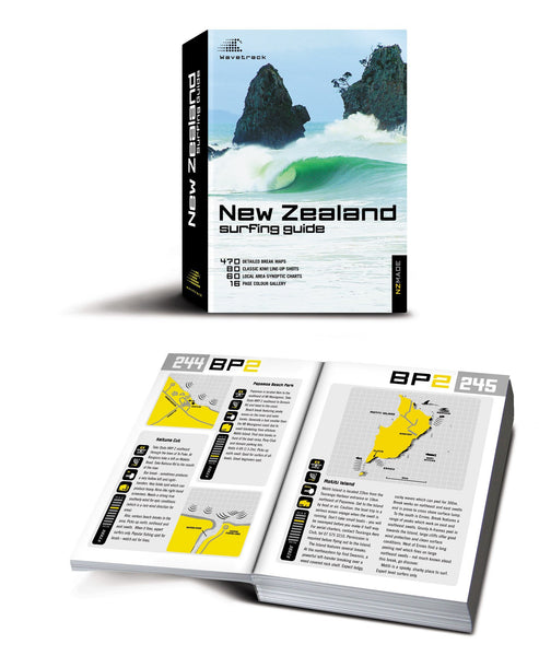 New Zealand Surfing Guide Book