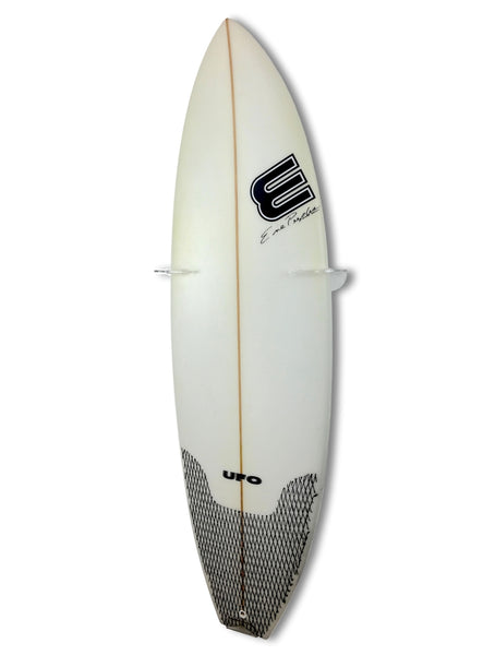 Surfboard Wall Rack VERTICAL - Single - Clear Mount
