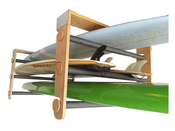 Surfboard & SUP Ceiling Rolling Rack