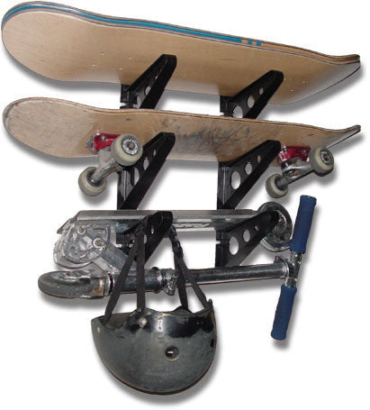 Skateboard Rack - Horizontal x3