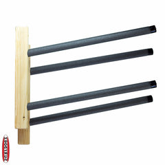 SUP Wall Rack - Double Wooden Rough 'n' Ready