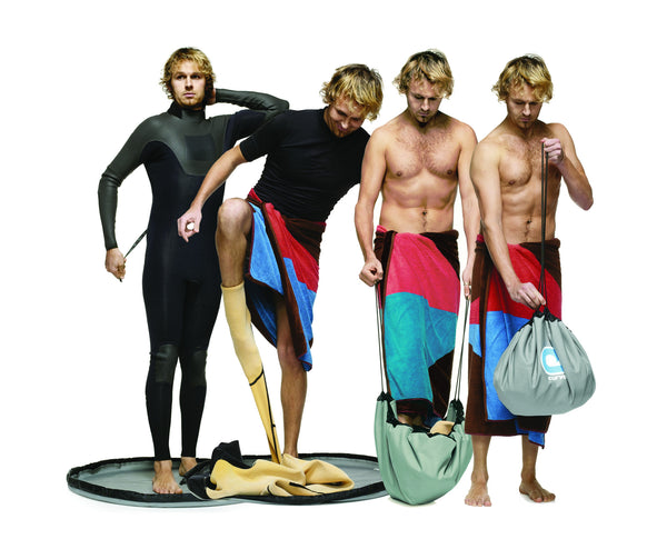 Change Bag - surf changing mat