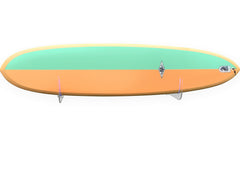 Surfboard Wall Rack RAIL UP - Fins up to 10