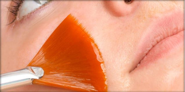 how to apply a peel esthetician