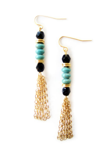 NA-E18 in Turquoise with Black