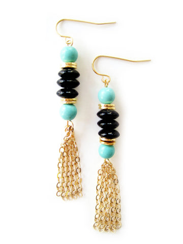 NA-E18 in Black with Turquoise