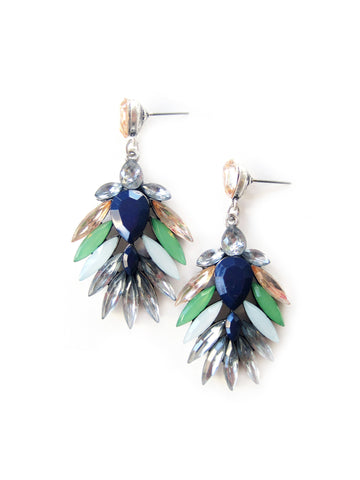 New Fall Earring! NA-E8 Blue/Green