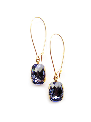 Bling Earring NA-E1 Purple