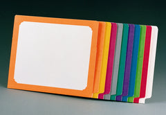 8646C Letter Size 15 pt. Color Frame File Folder w/ Reinforced Tab