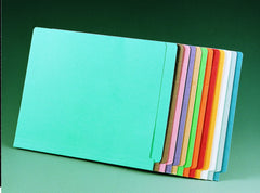 8661 Letter Size 11 pt. Color File Folder w/ Reinforced Tab