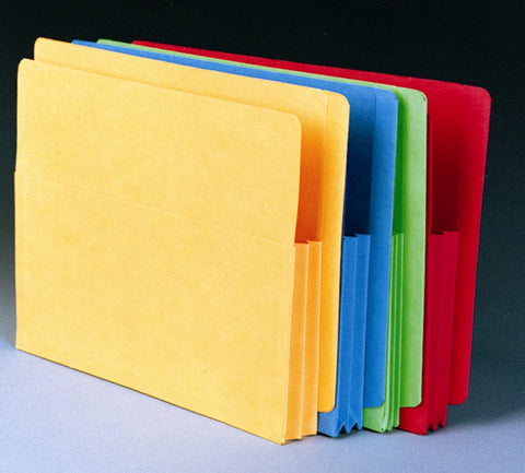 "T 6175  (T6175-***) 1-3/4"" Expansion Pocket Folder"