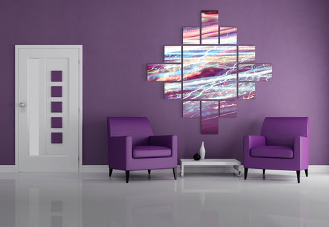 Living Room Wall Design #15