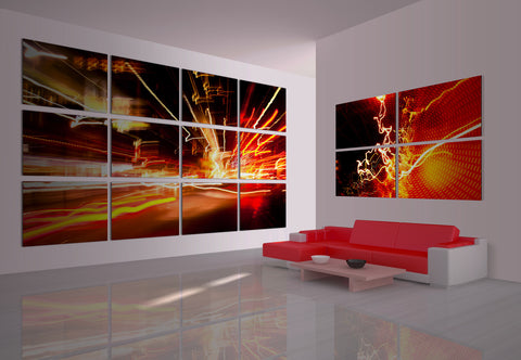 Living Room Wall Design #11