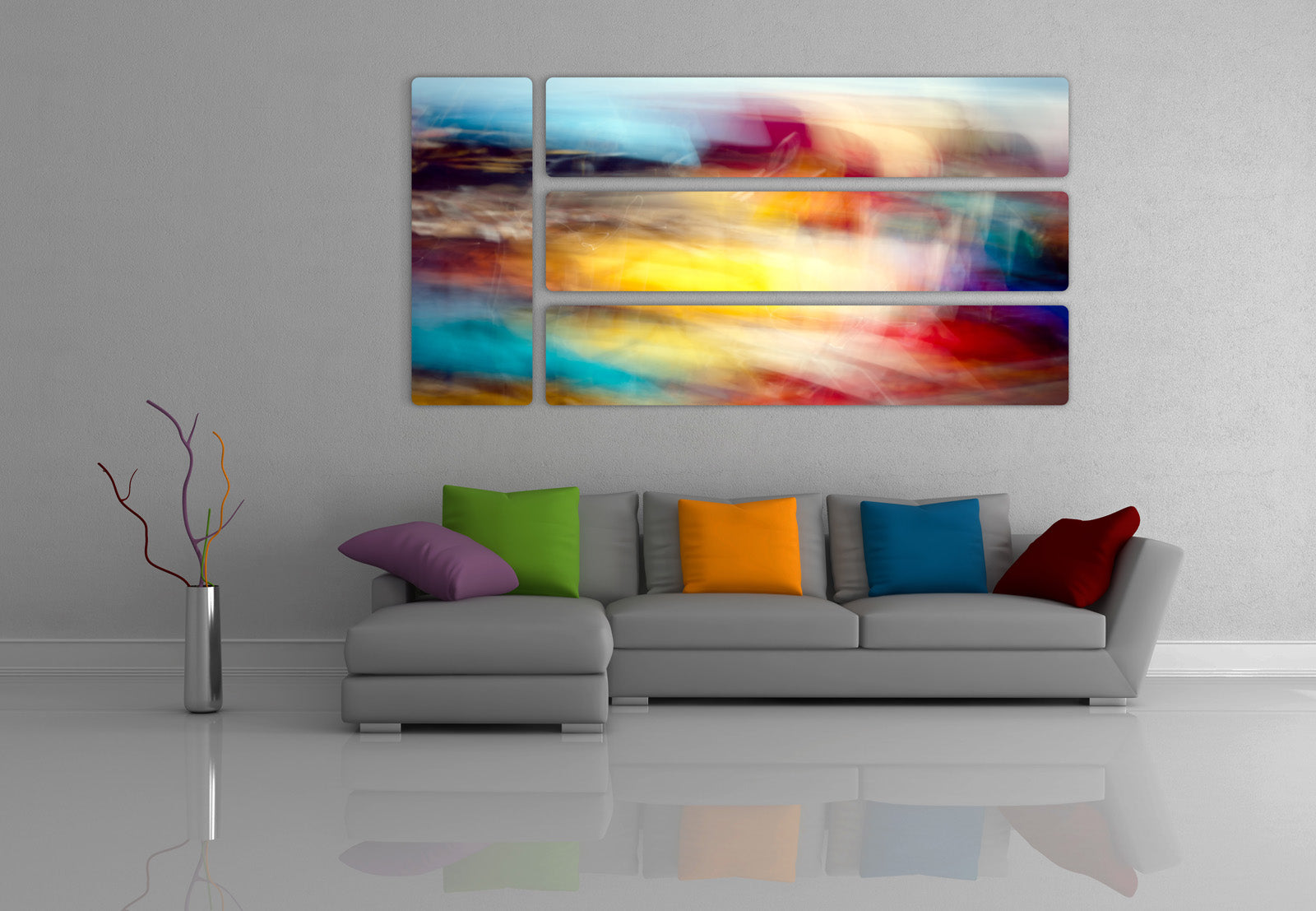 Living room wall design 2 alexei rebrov art Design 2 decor
