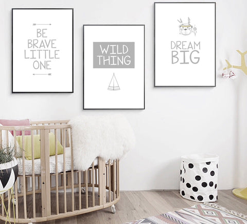 Be Brave Set of 3