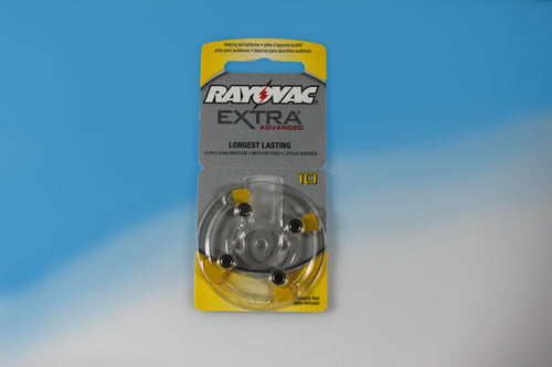 Rayovac Hearing Aid Replacement Batteries - A10 Size (40 Count) - RxEars®