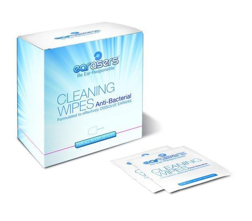 Hearing Aid Cleaning Wipes - RxEars®