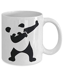 Dabbing Panda Bear Funny Ceramic Coffee Tea Mug (11 oz)