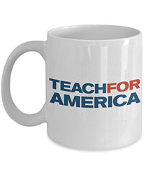 Teach For America Mug TFA Coffee Cup