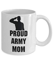 Proud Army Mom Mug Military Coffee Tea From Mother To Son
