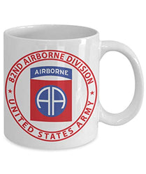 82nd Airborne Infantry Division United States Army Parachure Assault Operations Coffee Mug