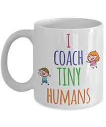 I Shape Tiny Minds Coffee Mug for Teachers Tutors Education School Day Care