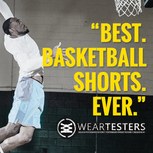 Weartesters Give Some Serious Shine to the DRYV Baller 3.0 Basketball Shorts