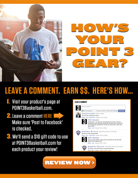 How is your POINT 3 Gear? - picture email promotion
