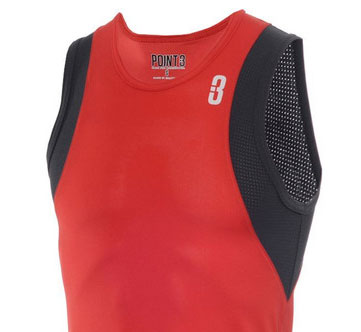 BASE LT red ventilated armholes