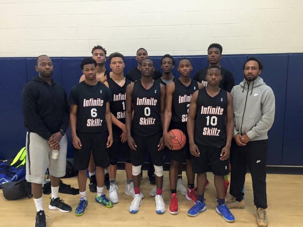 Infinite Skillz 17U Victorious at On the Radar Hoops Sweet 16 Session I