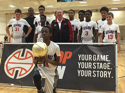 The Orlando Team Jayhawks after winning the Bob Gibbons TOC