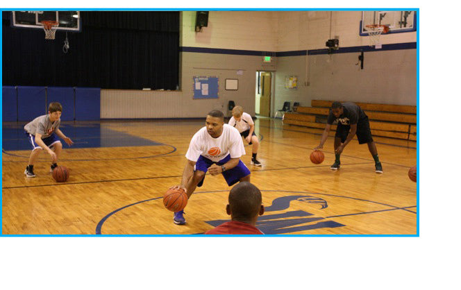 POINT 3 Alpha - Terry Drake - teaching kids to dribble the right way