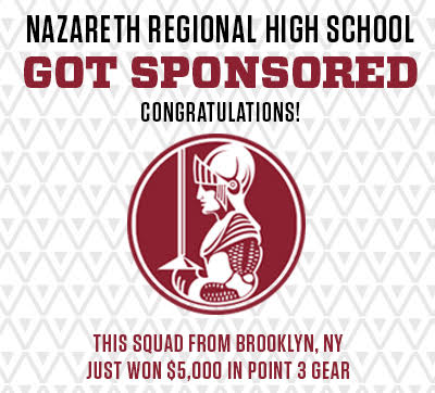 Nazareth Regional High School Got Sponsored by POINT 3