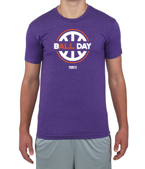 B(All) Day Graphic T-Shirt - Purple