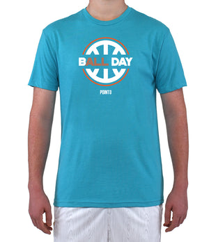 B(All) Day Graphic T-Shirt - Light Blue