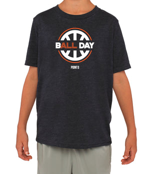 Youth B(ALL) Day Graphic T-Shirt - Navy