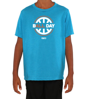Youth B(ALL) Day Graphic T-Shirt - Light Blue