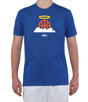 Basketball Heaven Graphic T-Shirt - Royal